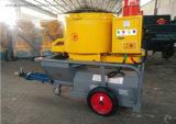 Type à vis de pompe à béton de mortier de ciment de la machine de pulvérisation