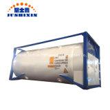 Jsxt 20FT T75 Pression de liquide cryogénique d'expédition ISO de stockage portable LNG/lar/Lin/LOX/N2O/l'hydrogène/méthane/éthylène conteneur cuve en acier inoxydable