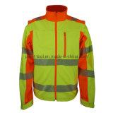 Alta uniforme del lavoro del Workwear di visibilità per gli operai e la costruzione della strada
