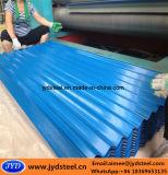 Techo de acero corrugado PPGI hoja con la película de PVC