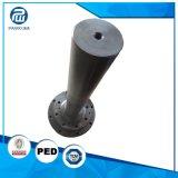 O torno grande da máquina de trituração do aço inoxidável parte fazer à máquina do CNC