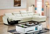 Australien das meiste populäre lederne Wohnzimmer-Sofa mit L Form
