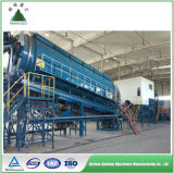 Msw triant la ligne matériel pour la gestion des déchets de ménage