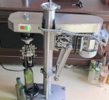 Machine recouvrante /Bottle de bouteille en verre recouvrant la machine