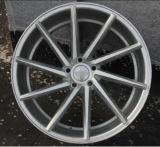 자동 알루미늄은 차를 위한 복사 Vossen CVT 합금 바퀴에 테를 단다