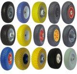 Wheel Barrow Tire 4.80 / 4.00-8 Roda de borracha de espuma PU sólida