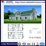 Casa Prefab do Edifício-Aço da estrutura do HOME-Aço