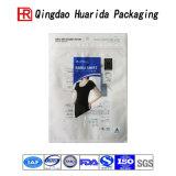 Bolso de empaquetado modificado para requisitos particulares de la ropa de la manera con la cremallera