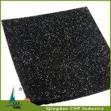 Couvre-tapis en caoutchouc de forme physique élastique d'intérieur d'utilisation avec les taches colorées