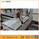 4 PVC Windows 문 단면도를 위한 맨 위 CNC 용접 기계