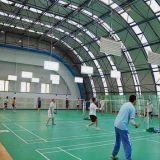O PVC do rolo da elasticidade da corte de Badminton ostenta o revestimento