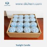 Spitse Kerstmis Witte Tealight Candles#05 van de Was van de Stok/van het Huishouden van de Pijler