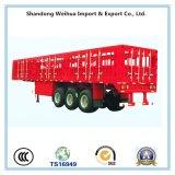 중국에서 반 화물 트레일러의 말뚝 트럭 트레일러