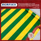 Tela de las rayas del color Impermeable Oxford Textil Tela de poliéster recubierta de PVC Tela