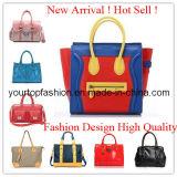 Più nuove borse delle signore del cuoio di modo di disegno