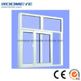 두 배 낮은 E 강화 유리를 가진 백색 색깔 PVC 프레임 Windows
