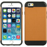 iPhone 6のための二重Defender Kickstand Case