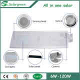 Linterna de camping de la energía solar portátil para uso doméstico, al aire libre
