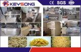 Maquinaria Frozen das microplaquetas de batata das fritadas francesas