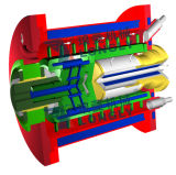NT -V150 Type de broche Horizontal Nano Bead Mill