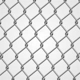 Il PVC ha ricoperto la rete fissa utilizzata galvanizzata rete fissa di collegamento Chain di collegamento Chain del collegare del diamante del ferro da vendere