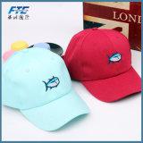 刺繍の印刷を用いるスポーツの野球帽