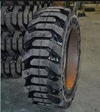 Fester Reifen, Gleiter-Ochse-Gummireifen, Rotluchs-Gummireifen (10-16.5)