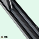 灰色カラー粉上塗を施してある三日月形ロックのアルミニウムスライディングウインドウK01072