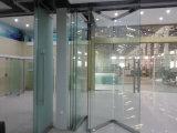 Mur en verre mobile de Frameless pour le bureau, le centre commercial et l'hôtel