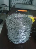 Hotsales Galvanized oder PVC Barbed Iron Wire
