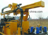 Буровая установка добра воды SNR400C многофункциональным установленная crawler