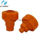 Bocal ajustável de plástico ajustável de pistão de água com cone cheio sólido