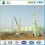 La estructura de acero de la construcción de almacén de acero
