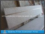 Il granito di pietra arrugginito G682 ha fiammeggiato la scala di superficie per il giardino esterno