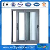 Pó de alumínio revestido de vidro corrediço de porta automática