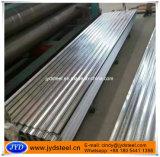 Lamiera di acciaio rivestita dello zinco della curva dell'onda