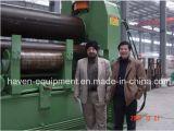 Máquina de dobra hidráulica da placa do rolo