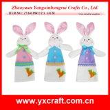 Cadeau de graduation de lapin de Pâques de la décoration de Pâques (ZY15Y303-1-2-3)