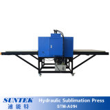 Machine de transfert de chaleur à sublimation hydraulique pour impression grand format