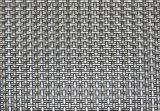 Prata & PVC moderno misturado Placemat do estilo 4X4 do preto