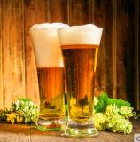 Tazza fredda della bevanda della tazza di vetro della birra di disegno di modo