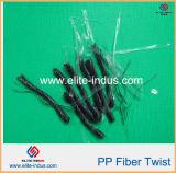 Волокно изогнутое формой PP волны Macro 30mm Undee 48mm 54mm