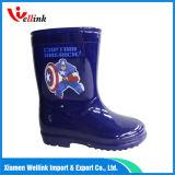 Borracha nova Rainboots do estilo dos miúdos