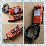 Alzamiento botón del interruptor del empuje F21-6s, F21-6s interruptor de control remoto