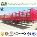 De Massa Ingesloten Aanhangwagen van uitstekende kwaliteit van de Vrachtwagen van de Lading van de Staak van de Omheining Semi