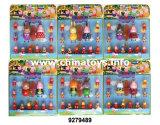 """2 """"boneca de porco, presente de promoção, brinquedos de boneca de plástico presente de novidade (9279492)"""