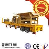 50-400 broyeur de maxillaire mobile de la CE de Tph, usine mobile de broyeur de maxillaire