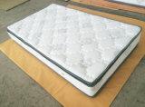 2つの側面によって使用される柔らかい泡の枕上のポケットばねのホテルのマットレス