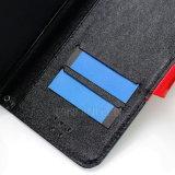 Nokia 5/6/9のための札入れフリップカバーLetaherのケース