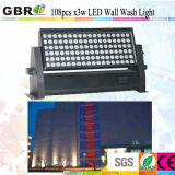 La construcción Lighitng/IP65 108*3W de luz de lavado de pared LED